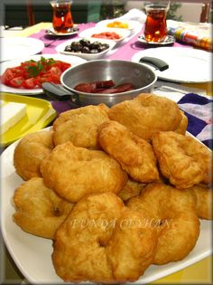Turkish Recipes, Ethnic Recipes, Turkish Breakfast, Food And Drink, Cooking, Desserts, Salt, Bread, Kitchens