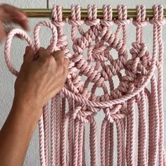 How to Add Layers to Your Work // Hi friends. Here is one way to add Layers to your work. Simply add a piece of rope using the Larks Head Knot at each end. Tag a friend who may be into this. // If you're new here, Hello. I offer DIY Macrame Patterns and Kits at the link in my bio ➡️ @reformfibers or at reformfibers.etsy.com Also, You can find more helpful videos at #TGIFF➰ (Thank Goodness Its Fiber Friday) // Where do I purchase my 100% Cotton 3 Strand Rope? This rope is hand dyed b...