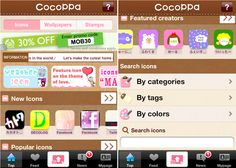 How to use Cocoppa / How to edit iphone icons: by StyleFake:  British Lifestyle Blog. on SheSaidBeauty