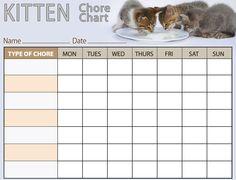 Strawberry Shortcake Chore Chart  Training