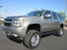 Ford Pickup Trucks, Chevrolet Trucks, Gmc Trucks, My Dream Car, Dream Cars, Lifted Chevy Tahoe, Chevy Girl, Rims For Cars, Chevrolet Suburban