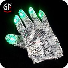 China Wholesale Black/White Dancing Magic LED Finger Light LED Gloves