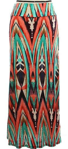 """""""Water Colors"""" Maxi Skirt!! TOP SELLER♥ Website link >>>http://www.smalltowngypsy.com/catalog.php?item=3062. Like us on FACEBOOK♥"""