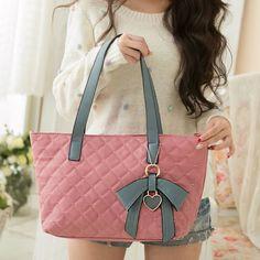 Fashion Sweet Bowknot Love Printed Handbag&Shoulder Bag for only $29.99 ,cheap Fashion Handbags - Fashion Bags online shopping,Fashion Sweet Bowknot Love Printed Handbag&Shoulder Bag