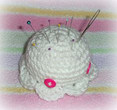 Octopus Pincushion - Free by Rachel Rigdon of Whimtastical Creations