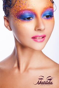 Matilda. Graftobian Make-Up Co #lips #fantasy #beautiful #colors