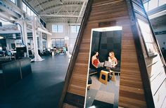 Conference room tipi. What if we made them moveable with a forklift for added flexibility?