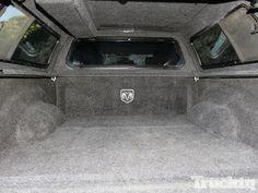 Leer Truck Cap And Mopar Bedrug Install Bed Interior