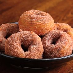 Chocolate-Stuffed Churro Donuts Recipe by Tasty - Desserts Easy Desserts, Delicious Desserts, Dessert Recipes, Yummy Food, Creative Desserts, Delicious Chocolate, Sweet Desserts, Healthy Desserts, Churro Donuts