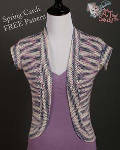 Spring Cardi - Free Crochet Pattern