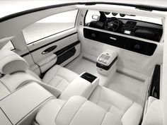 2017 Maybach Landaulet Interior I Could Put All That Room Into Good Use