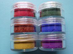 Rainbow Collection Six Eyeshadow Organic by TaterRoundsBeauty, $15.50