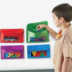 Learning Resources Magnetic Storage Pockets | OfficeSupply.com