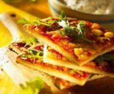 Rezept Tomaten-Rucola-Pizza von Thermomix Rezeptentwicklung - Rezept der Kategorie Backen herzhaft