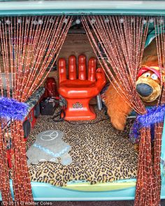 inside the mystery machine