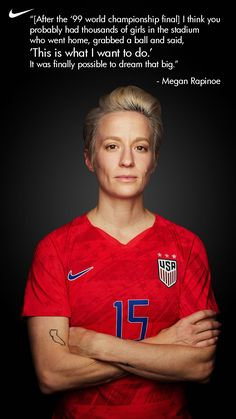 Permission to Dream Big.-Permission to Dream Big. The 1999 USWNT showed just what the women can do on the world's stage. The 2019 US Women's National team squad is looking to expand on that legacy of just what is possible. Usa Soccer Team, Soccer Goalie, Soccer Memes, Soccer Logo, Soccer Quotes, Soccer World, Soccer Shirts, Team Usa, Soccer Cleats
