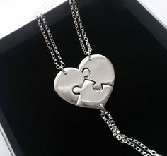 Sisters Necklace Sisters Jewelry 3 Sisters by HannahJacksonJ, $139.00