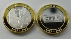 Dual Metal Oasis (What's the Story) Morning Glory? Silver and 24ct Gold Commemorative in Capsule. 25th Anniversary Indie/Britpop/90s #24ct #25th #anniversary #capsule #commemorative #Dual #glory #Gold #IndieBritpop90s #metal #morning #oasis #silver #Story #Whats 25th Anniversary Gifts, Wedding Anniversary Celebration, Britpop, Lights Background, Pink Floyd, Oasis, Indie, Metal, Silver