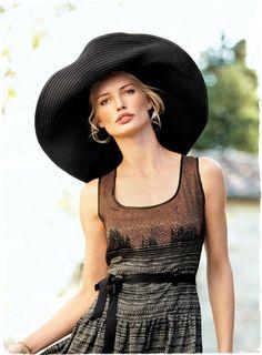 Beaton Hat: The little black dress of hats