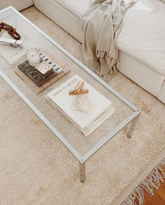 Neutral Color Scheme, Color Schemes, Living Room Inspiration, Chic, Indoor, My Favorite Things, Rugs, Table, Furniture