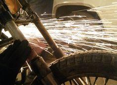#custom #fire #metal #bike #moto #kustom #russia #novosibirsk #мото #кастом #байк #работаем #work
