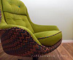Pracownia Foteli, oryginalne designerskie meble, renowacja mebli tapicerowanych, projektowanie mebli.