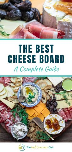 This guide to the Best Cheese Board will help you pick the right cheeses Best Cheese, Mediterranean Dishes, Healthy Thanksgiving Recipes, Paleo Recipes, Antipasto Recipes, Appetizers, Wine Wednesday, Family Night, Charcuterie Board