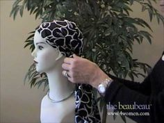 How to Tie a Head Scarf - styling options