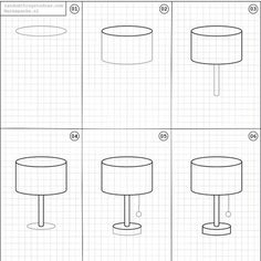 WEBSTA @ love_to_draw_nil - How to Draw a Lampshade Art piece from…