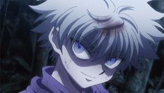 Animated gif about anime in Hunter x Hunter by Killua Killua, Hisoka, Hunter X Hunter, Hunter Anime, Manga Anime, Anime Art, Anime Fight, Hxh Characters, Cute Anime Guys