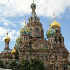 Russian Orthodox Church, St. Petersburg