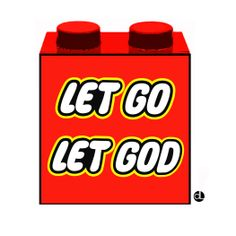 Let Go, Let God - Lego Toys Parody Fashion Kids, Let Go And Let God, Let It Be, Lego Bible, God Themes, Christian Bulletin Boards, Camping With Kids, Kids Camp, Family Camping
