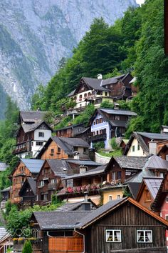 a bit of Austria Austria, Places To Travel, Wanderlust, Cabin, Explore, Mansions, House Styles, Drawing, Photography