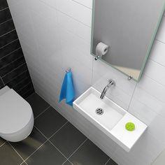 Clou Wash Me; Fontein Mini voor het toilet   Badkamer   Pinterest ...