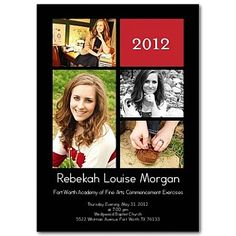 Beautiful DYI graduation announcements from Shutterfly!