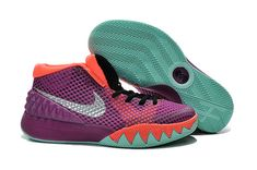 hot sale online f370e bf6c1 Kyrie 1 Young Easter Medium Berry Metallic Silver Hot Lava Black
