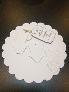 Bridal shower card- using SU dress up framelets, Best of Greetings stamp & the Choc chip stamp pad. Bridal Shower Cards, Stamp Pad, Wedding Cards, Dress Up, Design, Wedding Ecards, Costume, Wedding Invitation Cards