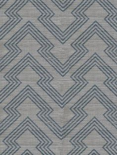"""WP6041 -  Holland & Sherry  Composition: Printed Sisal Width: 34""""(86 cm) Roll Size: 8 yds (7.32 m) Minimum Order: 2 Rolls Fire Rating: ASTM E-84 Class A Maintenance: Vacuum with a soft bristle attachment. Wipe with a damp cloth. Lead Time: 3-4 Weeks Custom Color Available: 2 Roll Minimum Repeat: 4.25"""" W x 2.08"""" H *Our natural wallcoverings are handmade and small color and fiber variations may occur. These are not considered flaws but beautiful and inherent characteristics of the product…"""