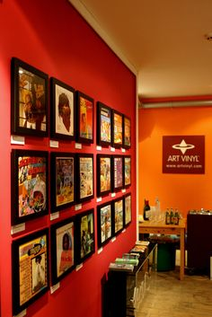 The art of Greensleeves Records at Art Vinyl gallery, Broadway market