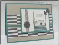 Ah...another color challenge today for you over on Create with Connie and Mary!  This one stumped me a little bit...I normally would be thinking about winter stamp sets with these colors, not sprin...