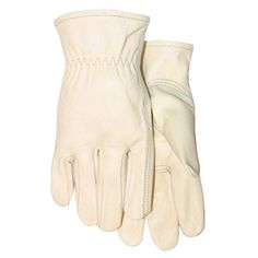 Shop MidWest Quality Gloves, Inc. Menu0027s Large Leather Work Gloves At Loweu0027s  Canada. Find Our Selection Of Garden Gloves At The Lowest Price Guaranteed  With ...