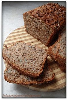Allergies Alimentaires, Pain Au Levain, Yeast Bread, Polish Recipes, Food Allergies, Diy Food, Bread Recipes, Banana Bread, Good Food