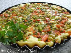 Na Cozinha da Tatá: Torta de Sardinha