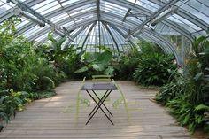 glasshouse at Nantes botanic garden