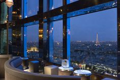 I wouldn't mind a view of the Eiffel Tower.