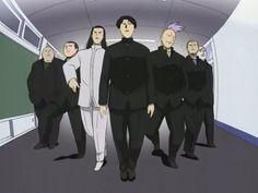 Cromartie High School good guys I love the opening where they are walking like this! To funny! One of my favorite anime songs!