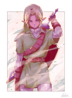 The Legend of Zelda- Link #Game ☆*:.。. o(≧▽≦)o .。.:*☆