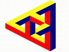 Dreieck - Optische Täuschung