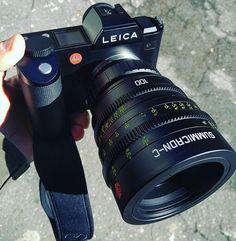 Sweet setup alert! Leica SL  Leica Cinelens Summicron-C 100mm  Photo by @eoloperfido Leica Photography, Photography Gear, Glamour Photography, Photography Equipment, Leica Camera, Camera Gear, Film Camera, Dslr Or Mirrorless, Best Dslr