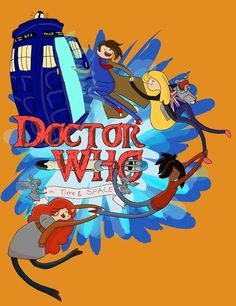 """""""Tardis Time"""" - Doctor Who and Adventure Time mashup Adventure Time Crossover, Adventure Time Shirt, Tardis, Geeks, Doctor Who, Doctor Stuff, Serie Doctor, Finn The Human, Jake The Dogs"""